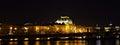 National Theatre  Night Prag - nocni Praha Royalty Free Stock Photo