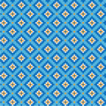 National uzbek pattern Royalty Free Stock Photo