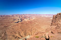 Nationalpark landschaft canyonlands Lizenzfreie Stockfotografie