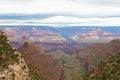 Nationella park s kant ljusa angel trail för az tusen dollar kanjon Royaltyfri Fotografi