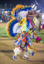 Native american barona california aug man takes part at the barona rd annual barona powwow in california on august pow wow is Royalty Free Stock Photo