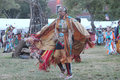 Native american dancers at pow wow glen oaks ny usa july annual queens county farm museum Royalty Free Stock Photography