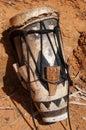 Native American Drum, Embera Tusipono, Panama Royalty Free Stock Photo