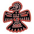 Native American idol eagle Royalty Free Stock Photo