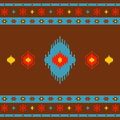 Native American Indian seamless pattern ethnic traditional geometric art with retro vintage design elements Aztec Inca Navajo Royalty Free Stock Photo