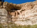 Native American Ruins, Montezuma Castle National Monument Royalty Free Stock Photo