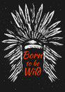 Native Americans feather headdress