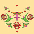 Native indian ornament, mandala. Royalty Free Stock Photos