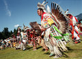 Native Indian Pow Wow Stock Photo