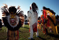 Native Indian Pow Wow Royalty Free Stock Photography