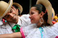 Native latin dances new york jun natives people participant in a dance parade on june in new york city usa Stock Photo