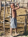 Native Malagasy child Stock Photography