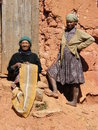 Native Malagasy women Stock Photos
