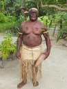 Native man in Vanuatu Royalty Free Stock Photography