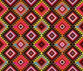 Native pattern american vector seamless wallpaper Stock Image
