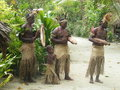 Native people in Vanuatu Royalty Free Stock Photo