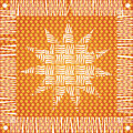 Native Sun Design Stock Image