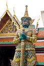 Native Thai Style Giant sculpture Stock Images