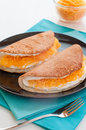 "Native thai style of pancakes sweet or ""khanom thangtaek"" is traditional sweets both flavor and taste it offers the original Royalty Free Stock Images"