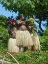 Native women in Vanuatu Stock Image