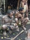 Natives of Vanuatu Stock Photography