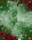 Nativity Christmas background Royalty Free Stock Photo