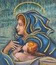 Nativity mosaic Royalty Free Stock Photo