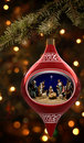 Nativity Ornament Royalty Free Stock Photo