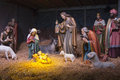 The Nativity scene. Royalty Free Stock Photo