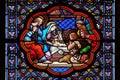 Nativity Scene, Adoration of the Shepherds Royalty Free Stock Photo