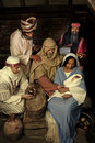 Nativity scene christmas Royalty Free Stock Photo