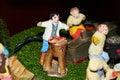 Nativity scene, details Royalty Free Stock Photo