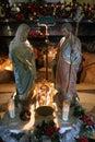 Nativity scene, Haifa, Stella Maris church Royalty Free Stock Photo
