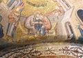 Nativity scene, mosaic Royalty Free Stock Photo