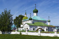 Nativity of the theotokos church kostroma in russia Royalty Free Stock Image