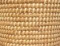 Natural Basket-weave Background Royalty Free Stock Image