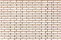 Natural beige fine brick wall texture background Stock Photography
