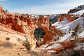 Natural Bridge in Bryce Canyon Royalty Free Stock Photo