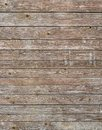 Natural brown barn wood wall. Wall texture background pattern. Royalty Free Stock Photo