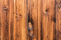 Natural brown barn wood wall. Wall organic texture background pattern. Royalty Free Stock Photo