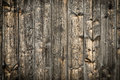 Natural brown barn wood wall. Wooden textured background pattern. Royalty Free Stock Photo