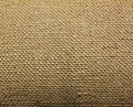 Natural burlap hessian sacking Royalty Free Stock Image