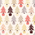Natural Christmas Tree Background Stock Photo