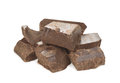 Natural cocoa mass Royalty Free Stock Photo