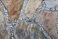 Natural colorful stone can be used as background Royalty Free Stock Photo