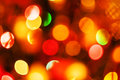 Natural defocused christmas lights good for background Stock Image