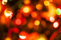 Natural defocused christmas lights good for background Royalty Free Stock Images
