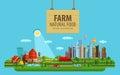 Natural Food. Farm And City. V...