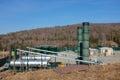 Natural Gas Gathering Station Royalty Free Stock Photo