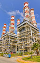 Natural gas power plant Royalty Free Stock Photo